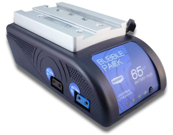 BUBBLEPACK Batterie Universal 65Wh avec sortie de voltage multiple